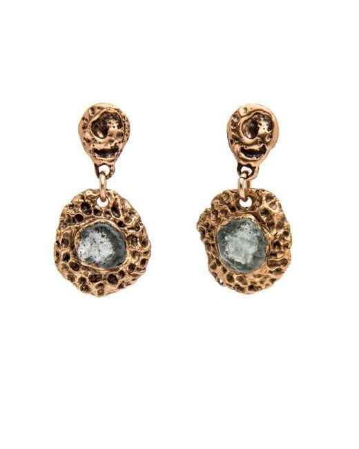 Julie Cohn - Metallic Moon Montana Sapphire Drop Earrings - Lyst