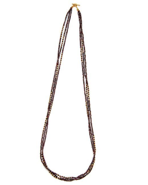 Yossi Harari   Multicolor Tribe Wrap Garnet Necklace   Lyst