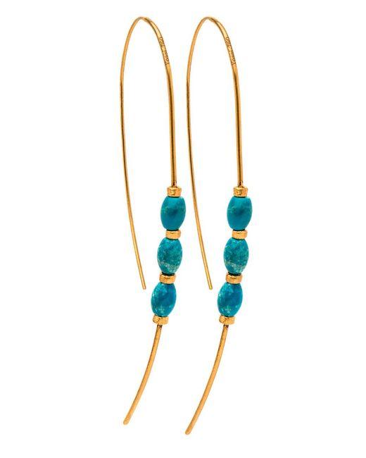 Yossi Harari   Blue Michel Turquoise Earrings   Lyst