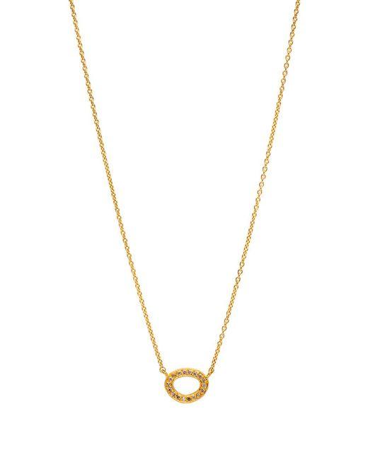 Yossi Harari - Metallic Melissa Diamond Open Link Necklace - Lyst