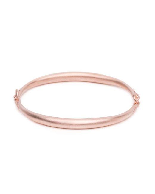 Ted Muehling | Pink Rose Gold Simple Bracelet | Lyst
