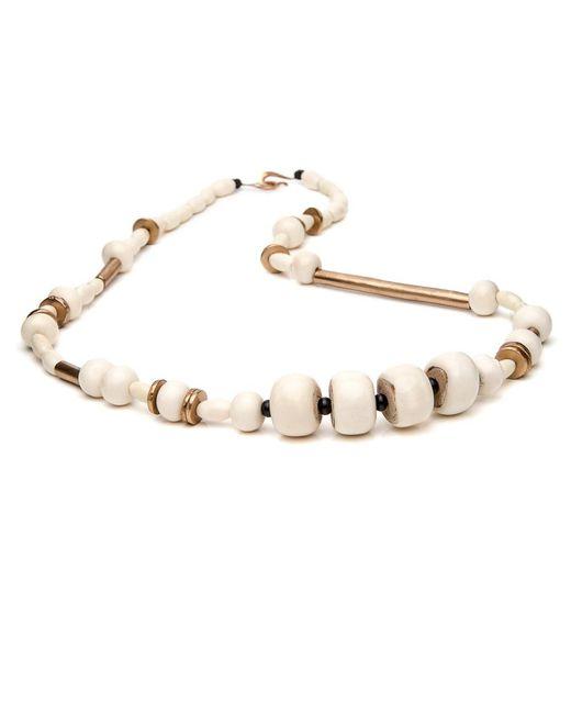 Julie Cohn - Multicolor Mari Long Bone Necklace - Lyst