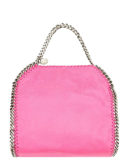 Stella McCartney | Pink Mini Falabella Faux Leather Tote Bag | Lyst