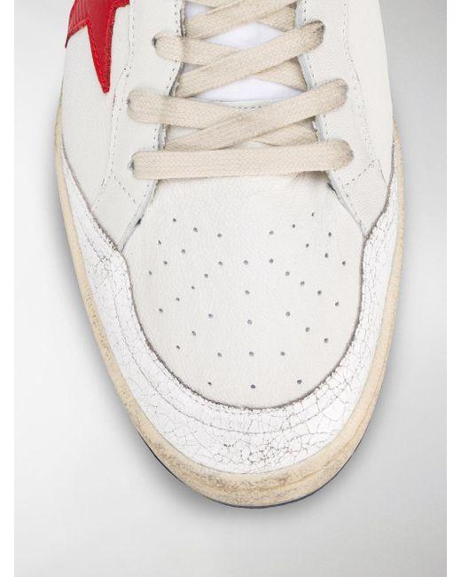 ... Golden Goose Deluxe Brand - White Superstar Sneakers for Men - Lyst