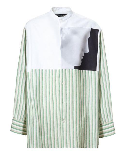 Raf simons robert mapplethorpe ermes solid and striped for Raf simons robert mapplethorpe shirt