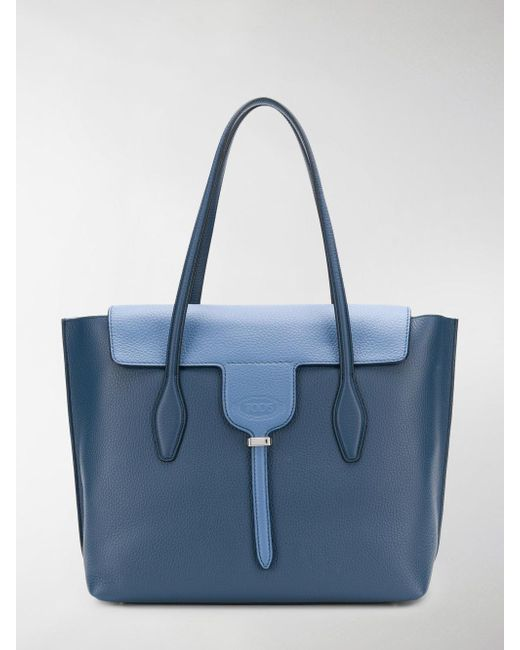 Tod's - Blue Joy Medium Tote - Lyst