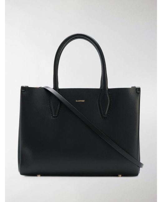 Lanvin - Black Medium Journée Tote - Lyst ... 7c6cefe1613af