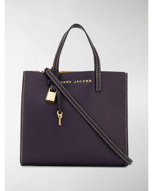 Marc Jacobs - Purple The Mini Grind Tote Bag - Lyst