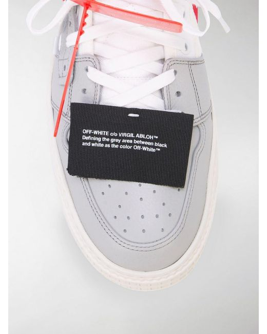 6fbdd80fb3a732 ... Off-White c/o Virgil Abloh - Off Court Sneaker In White for Men ...