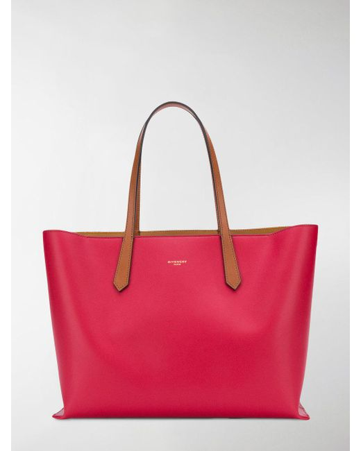 classic shopper tote - Red Givenchy M3Ta5bvM