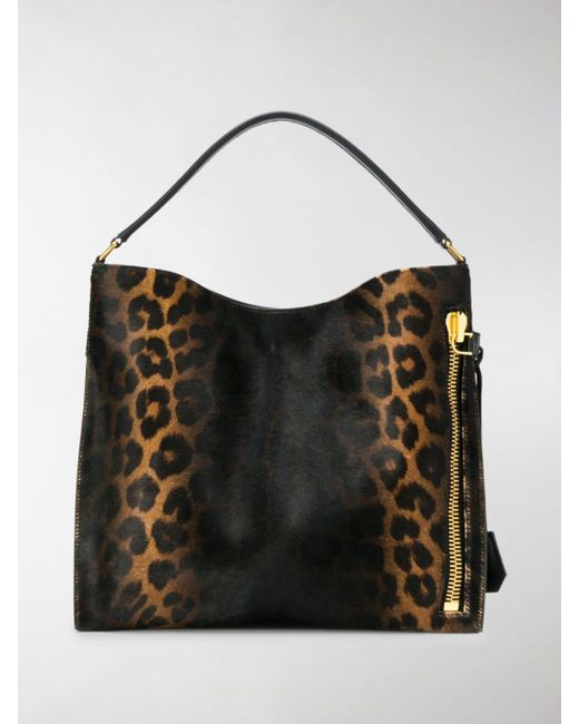 Tom Ford Black Alix Tote Bag