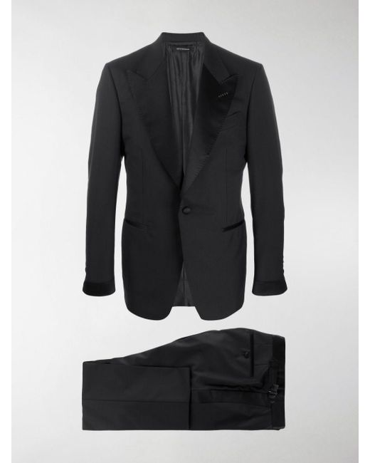 Tom Ford Blue Two Piece Dinner Suit for men