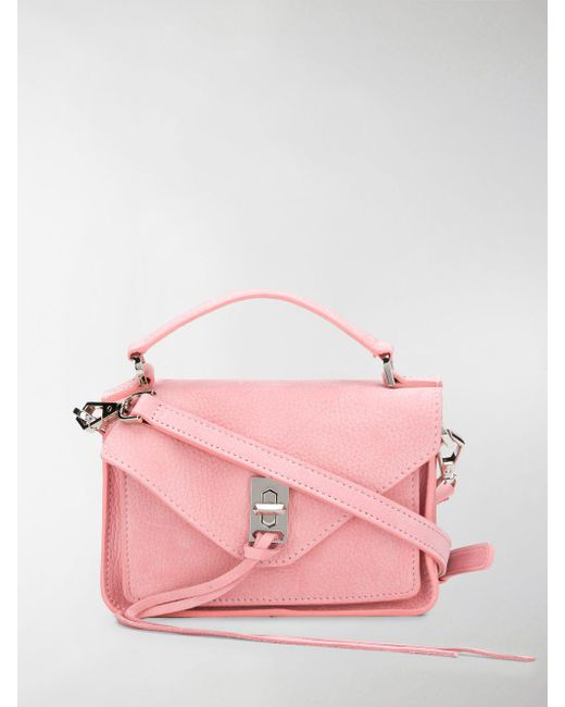Rebecca Minkoff - Pink Mini Darren Cross Body Bag - Lyst