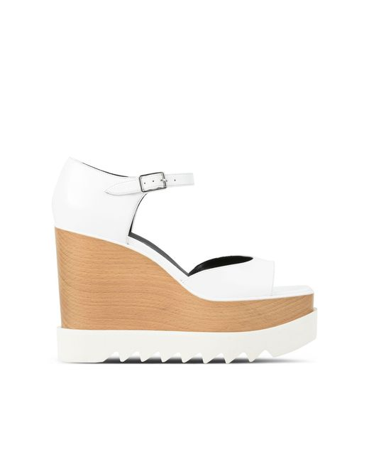 Stella McCartney | White Wedges | Lyst