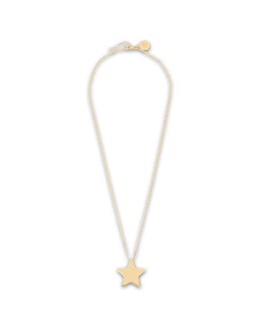 Stella McCartney | Yellow Brass Star Necklace | Lyst