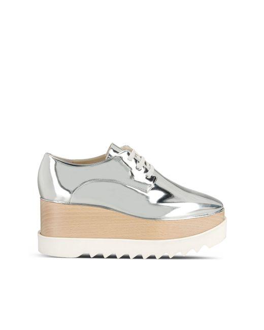 Stella McCartney | Elyse Metallic Platform Shoes | Lyst