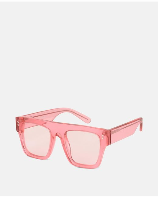 Pink Icy Ice Flat Top Sunglasses Stella McCartney JWMWFhY