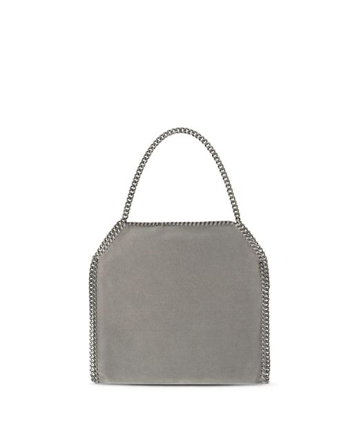 a497617c366 ... Stella McCartney - Gray Light Grey Falabella Shaggy Deer Small Tote -  Lyst ...