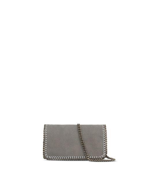 ... Stella McCartney - Gray Light Grey Falabella Cross Body Bag - Lyst ... 706e84d354a85