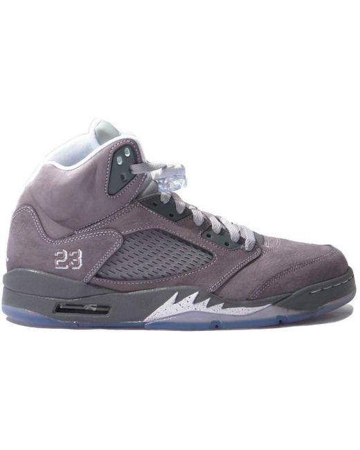 best cheap bc799 9e769 Nike. Men s Gray 5 Retro Wolf Grey