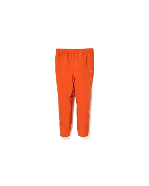 20ffc0d9303d Lyst - A Bathing Ape Double Sta Track Pants Orange in Orange for Men