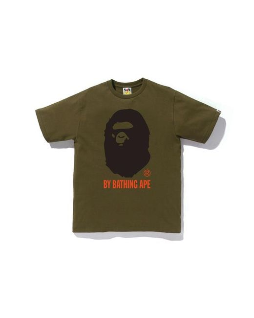 3cfdcc98 Lyst - A Bathing Ape Colors By Bathing Tee Olive in Green for Men ...