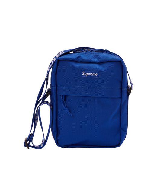 7f7394ce5389 Supreme - Blue Shoulder Bag (ss18) Royal for Men - Lyst