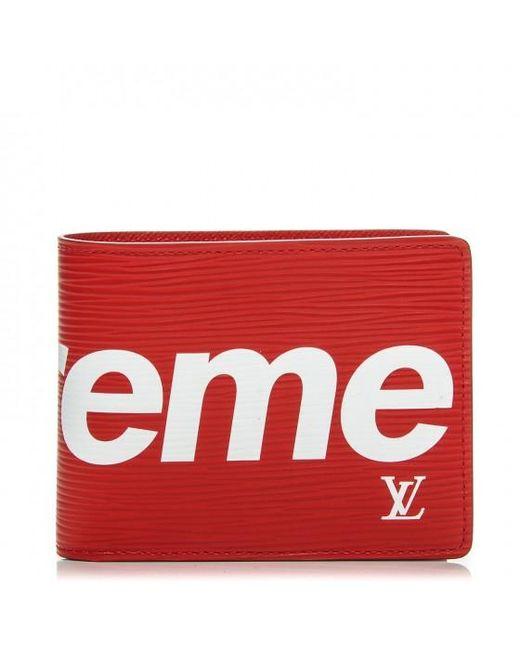 Supreme Men S Louis Vuitton X Slender Wallet