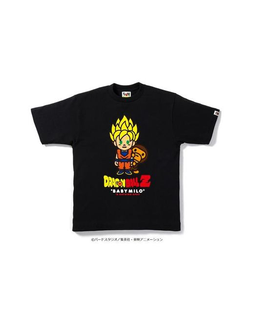 4c91e2da A Bathing Ape X Dragon Ball Z Tee 1 Black in Black for Men - Lyst