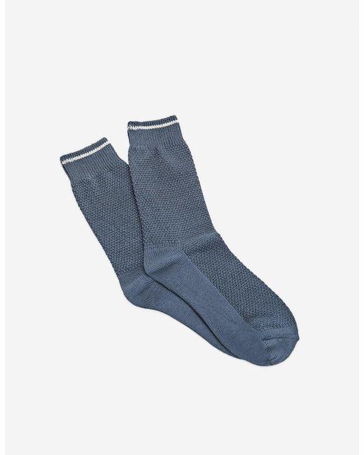 Stradivarius | Blue Long Textured Socks for Men | Lyst