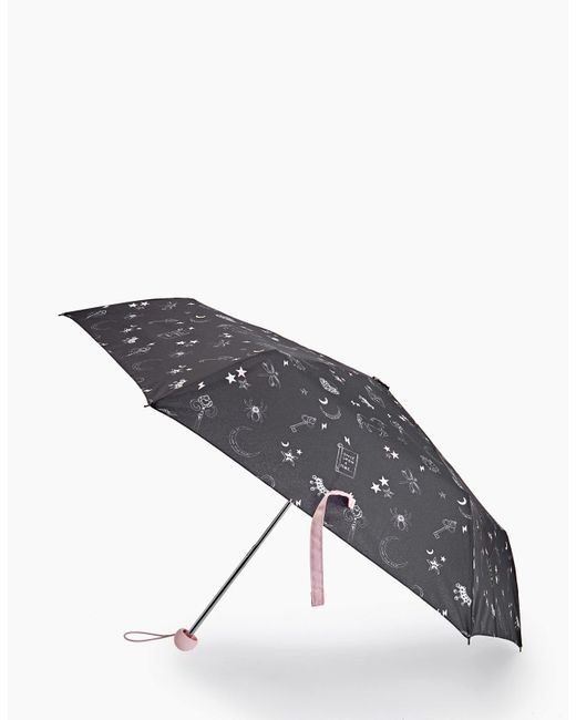 Stradivarius | Black Unicorn Print Umbrella | Lyst