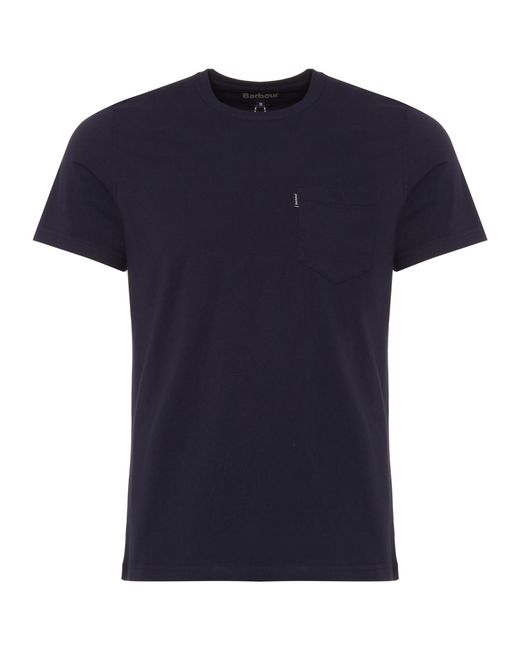Barbour - Blue Navy Essential Pocket for Men - Lyst