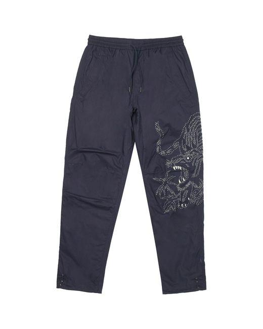 Maharishi - Blue Navy Stencil Tiger Pants - Lyst