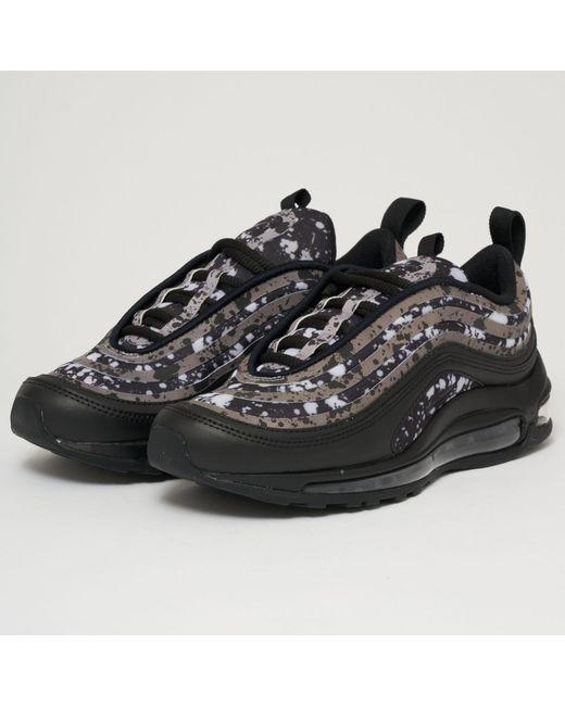 4dcf346d0f23 Lyst - Nike Air Max 97 Ultra 17 Prm - Black   Vast Grey in Black for Men