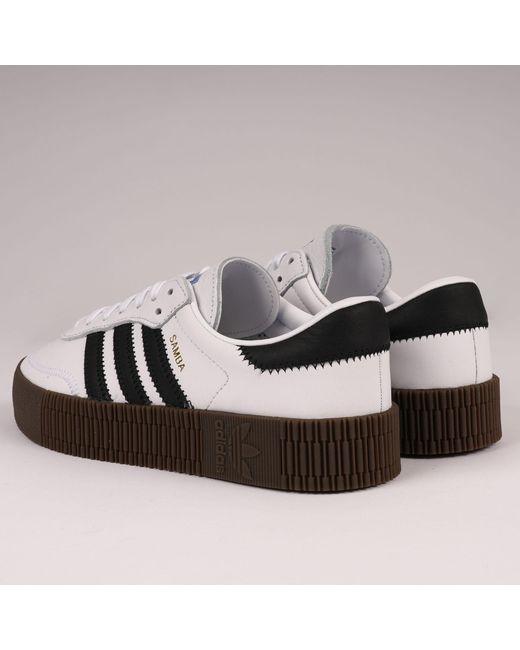 e85299f0fac ... Lyst Adidas Originals - Sambarose - Ftwr White