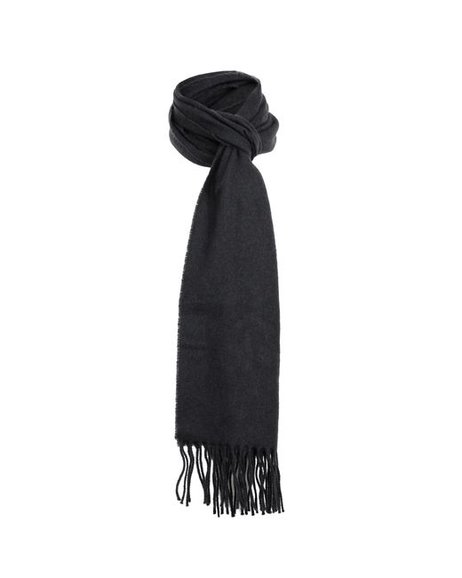 Dents - Black Lambswool Scarf for Men - Lyst