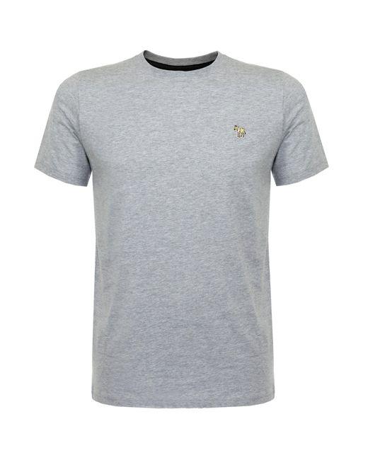 PS by Paul Smith - Gray Paul Smith Zebra Melange Grey T-shirt for Men - Lyst