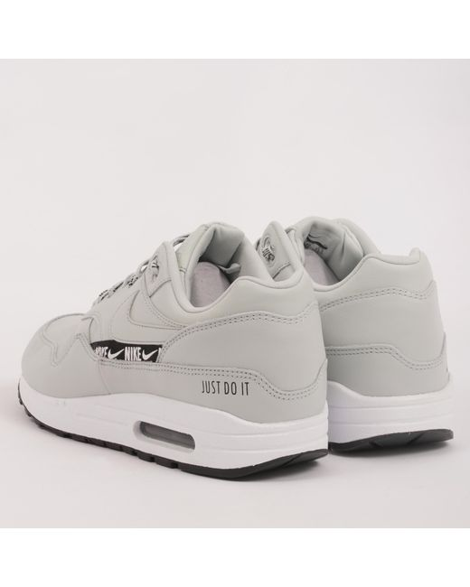 09667e868131 ... Nike - Metallic Air Max 1 Se Overbranded - Silver for Men - Lyst ...