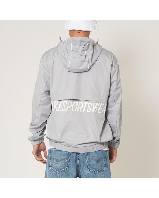 ... Nike - Gray Wolf Grey Woven Archive Jacket for Men - Lyst ... f69442375