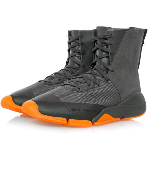 Y-3 | Multicolor Future Zip High Chamel Boot for Men | Lyst