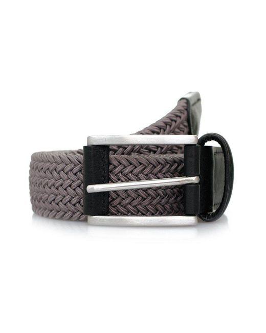 Andersons - Gray Anderson's Woven Grey Belt B0667 Ne37 for Men - Lyst