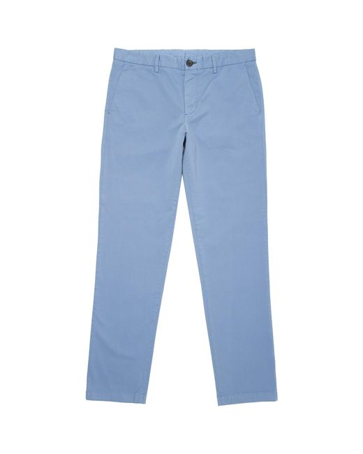 PS by Paul Smith - Blue Tapered Fit Stretch-cotton Chinos - Lyst