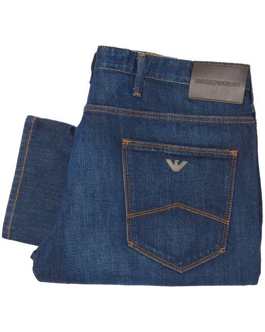 Emporio Armani - Blue Denim J06 Slim Fit Jeans for Men - Lyst