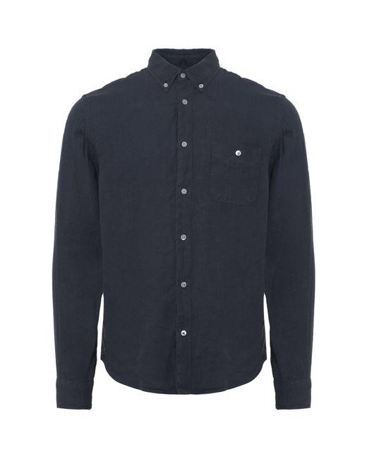 NN07 - Blue Navy New Derek Oxford Shirt for Men - Lyst
