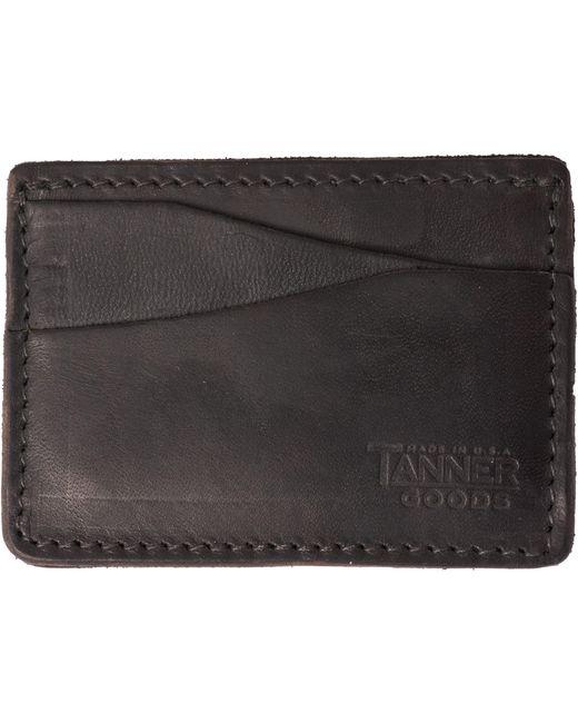 Tanner Goods - Journeyman Cardholder - Black for Men - Lyst