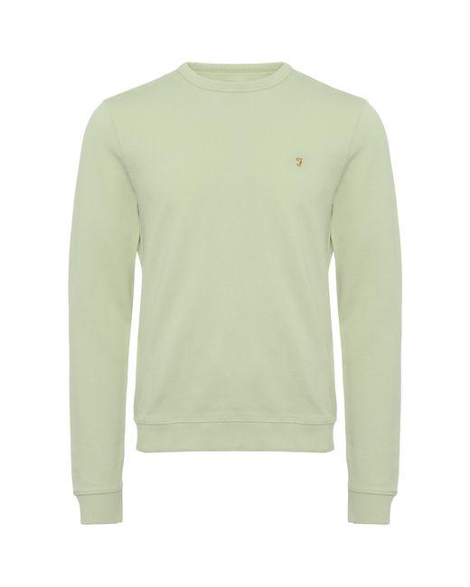 Farah - Green Balsam Pickwell Sweatshirt for Men - Lyst