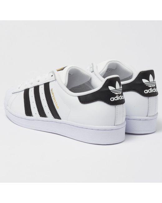 adidas Originals Superstar - White   Core Black in White for Men ... 6e043a335f2f2