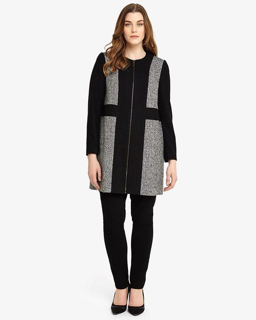 Studio 8 | Black Gwen Coat | Lyst