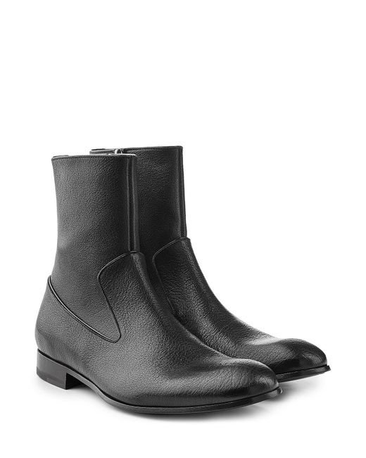 Alexander McQueen | Multicolor Leather Ankle Boots for Men | Lyst