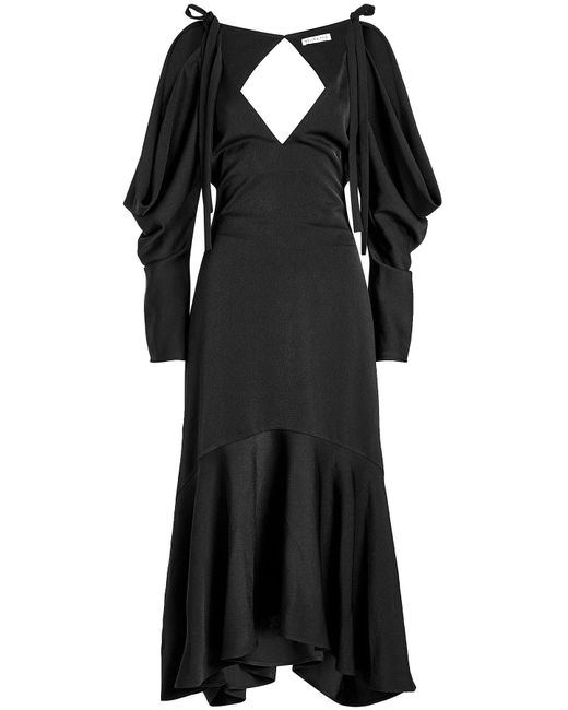Rejina Pyo - Black Camille Dress With Cut-out Detail - Lyst